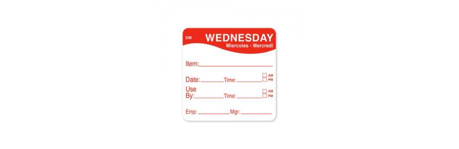 Days Dot Labels
