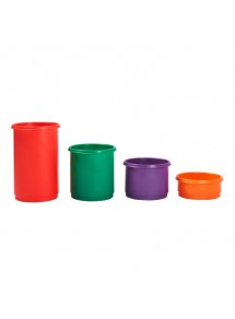 Plastic Round Stacking Bins 46 Litre